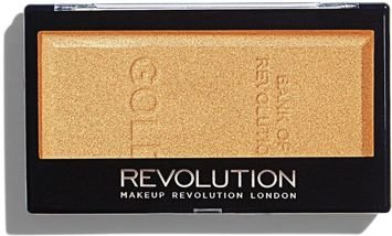 MAKEUP REVOLUTION Rozświetlacz Ingot Highlighter Gold 12g