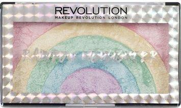 MAKEUP REVOLUTION Rozświetlacz Rainbow Highlighter 10g
