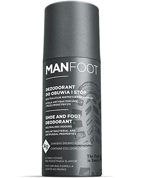 MANFOOT Dezodorant do obuwia i stóp 150ml (Shoes Deodorant)