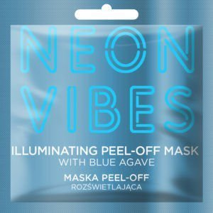 MARION NEON VIBES Maska peel-off rozświetlająca 8g