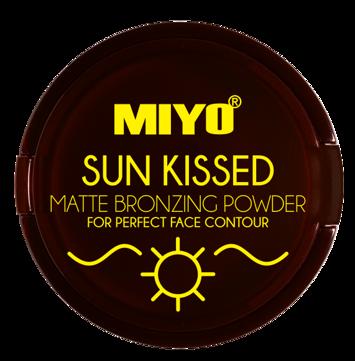 MIYO SUN KISSED POWDER Puder Brązujący matowy no.02 Chilly bronze 10 g
