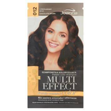 MULTI EFFECT color Keratin complex Szamponetka koloryzująca Czekoladowy  brąz /012/