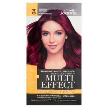 MULTI EFFECT color Keratin complex Szamponetka koloryzująca Malinowa czerwień  /04/