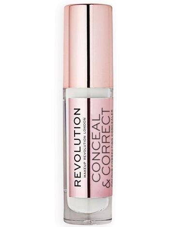 Makeup Revolution Conceal and Define Korektor w płynie C0 (biały) 3,4ml