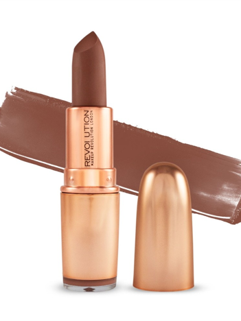 Makeup Revolution Iconic Matte Nude Lipstick Pomadka do ust matowa Inspiration