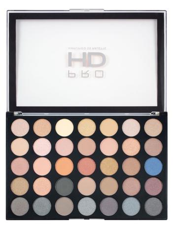 Makeup Revolution Pro HD Amplified 35 Palette Cienie do powiek Smoulder 30g (35 kolorów)