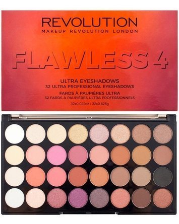 Makeup Revolution Ultra Palette Paleta 32 cieni Flawless 4 16g