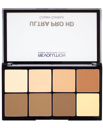 Makeup Revolution Ultra Pro HD Cream Contour Zestaw kremowych pudrów do konturowania Light-Medium 20g