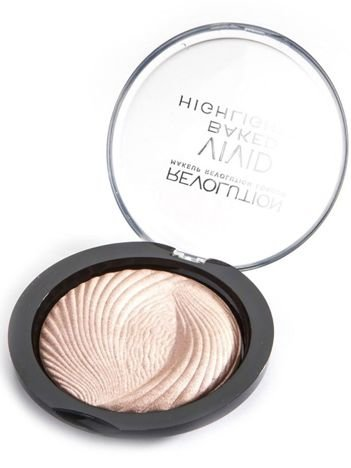 Makeup Revolution Vivid Baked Rozświetlacz do twarzy Peach Lights 7.5 g
