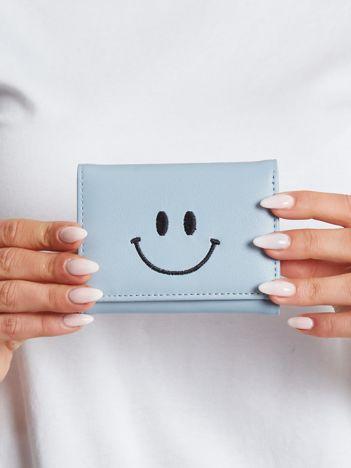 Mały niebieski portfel