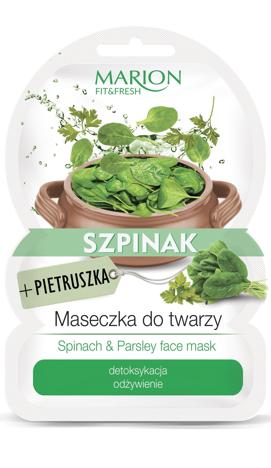 "Marion Fit & Fresh Maseczka do twarzy Szpinak+Pietruszka  9g"""