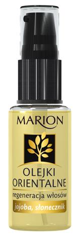Marion Olejki Orientalne - jojoba, słonecznik - regeneracja włosów 30 ml