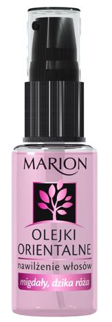 Marion Olejki Orientalne - mogdały, dzika róża - nawilżenie włosów 30 ml