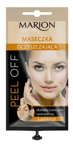 Marion Spa Maseczka peel-off z dozownikiem oczyszczająca 3 aplikacje 18 ml