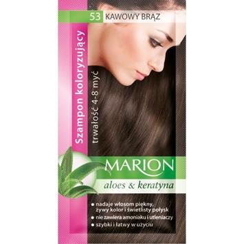 Marion Szampon koloryzujący 4-8 myć nr 53 kawowy brąz