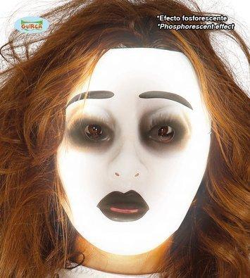 Maska świecąca w ciemności
