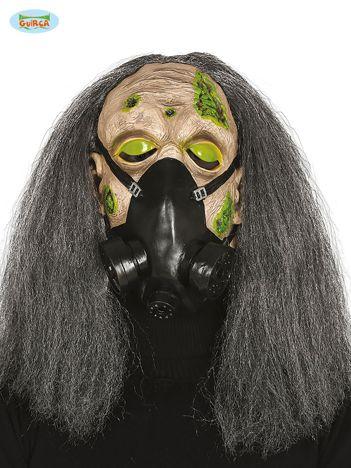 Maska z włosami