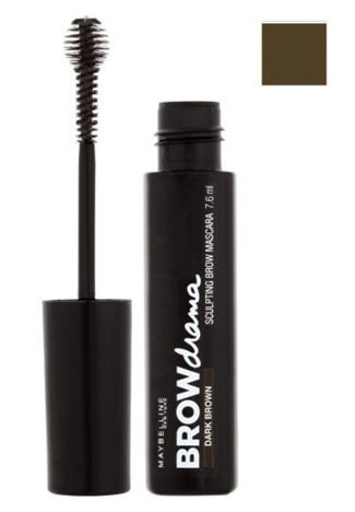 Maybelline Brow Drama maskara do brwi Medium Brown 7,6 ml