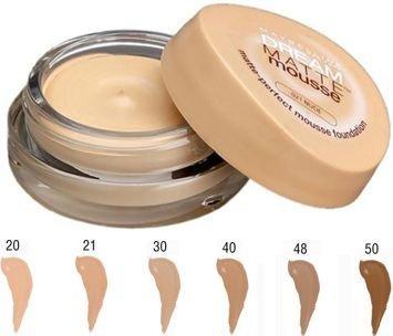 Maybelline Dream Matte Mousse Foundation podkład w musie nr 30 Sand 18 ml