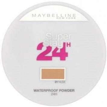 Maybelline Super Stay 24 Longwear Matte Powder Waterproof puder matujący 21 Nude 9g