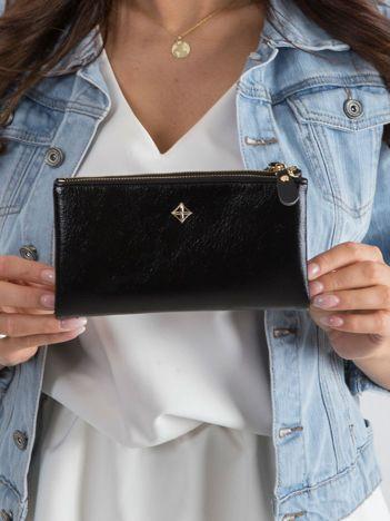 Miękki portfel czarny