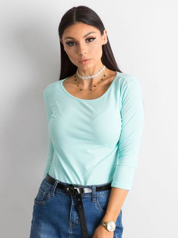 Miętowa bluzka Mona
