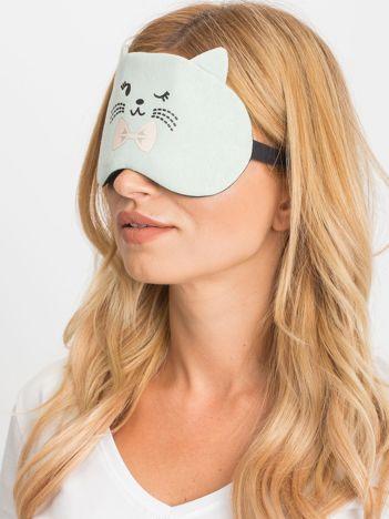 Miętowa maska do spania