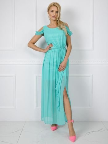 Miętowa sukienka Amanda