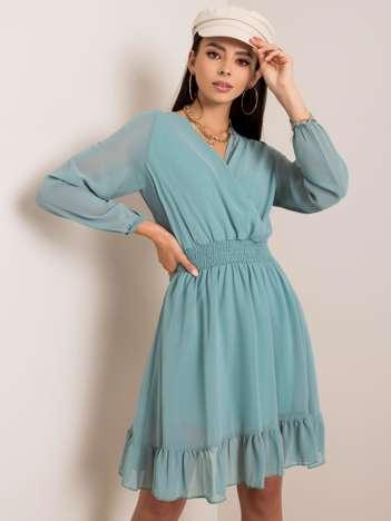 Miętowa sukienka Giovana RUE PARIS