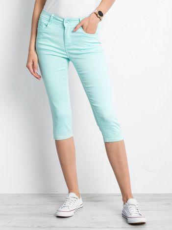 Miętowe spodnie Recreated