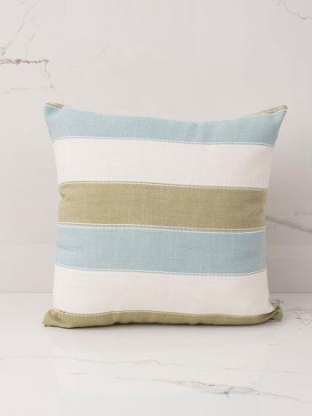 Miętowo-zielona poduszka dekoracyjna