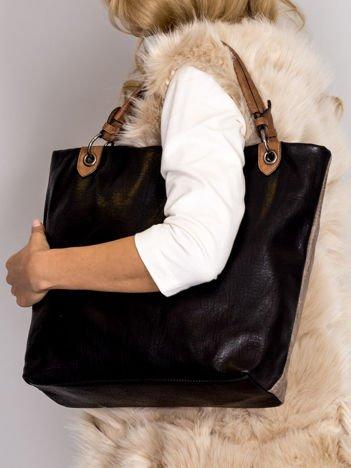 Modułowa miękka torba czarna