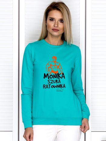 Morska bluza damska MONIKA SZUKA RATOWNIKA by Markus P
