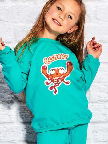 Morska bluza dziecięca znak zodiaku RAK