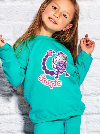Morska bluza dziecięca znak zodiaku SKORPION
