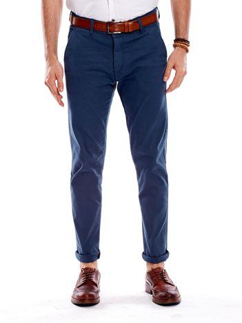 Morskie materiałowe spodnie męskie