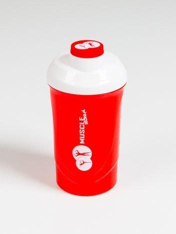 Muscle Store - Shaker 0,6l czerwony