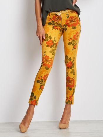 Musztardowe spodnie Nebraska