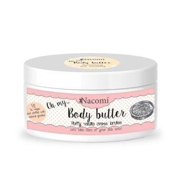 NACOMI Masło do ciała Waniliowe Crème Brulee, 100 ml