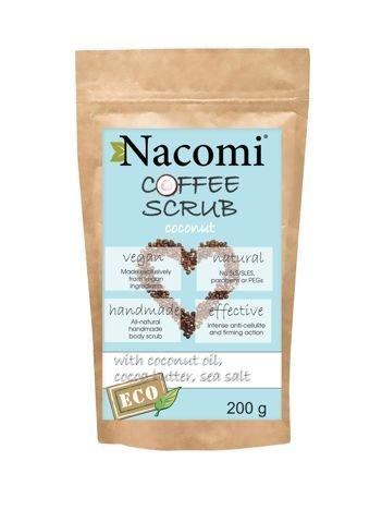 NACOMI Peeling do ciała suchy Kokos, 200g
