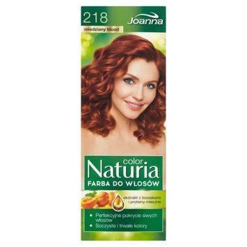 NATURIA COLOR Farba Miedziany blond (218)