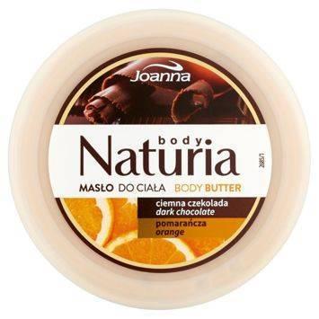NATURIA Masło do ciała Czekolada 250g