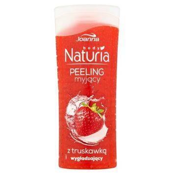 NATURIA Peeling  myjący z truskawką  100g