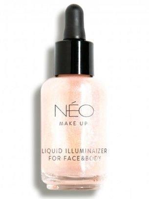 NEO Make Up Nabłyszczacz do twarzy i ciała Liquid Illuminaizer for Face & Body 30 ml