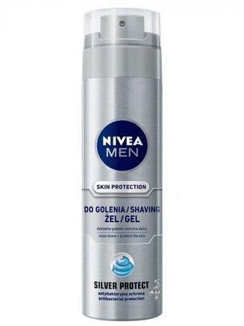 NIVEA MEN Żel do golenia SILVER PROTECT  200 ml