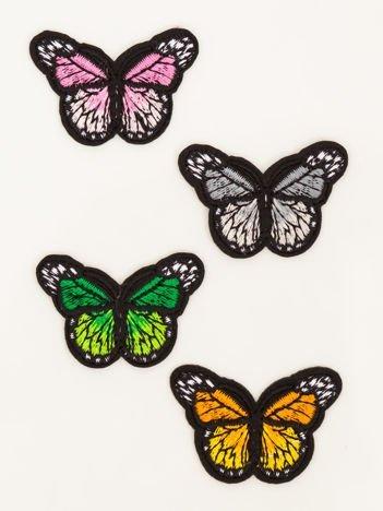 Naprasowanka - doskonała ozdoba odzieży 4 szt. (wymiary każdej: 4,5 x 3 cm)