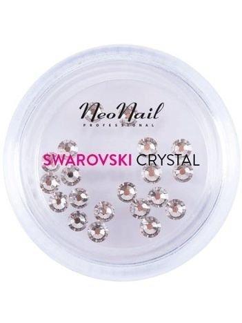 NeoNail Cyrkonie Swarovski SS9 (L) Crystal 001 Silver Shadow 20 szt.
