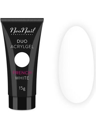 NeoNail DUO ACRYLGEL PERFECT FRENCH WHITE 15 g