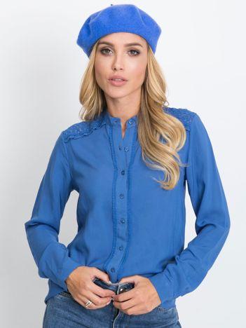 Niebieska bluzka Flow