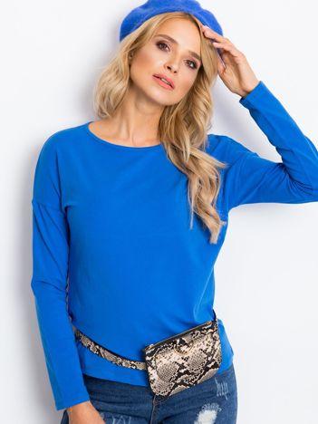 Niebieska bluzka Heaven